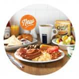 New unlimited all you can eat breakfast