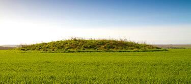 Neolithic burial mound, Cranborne Chase near Trowbridge
