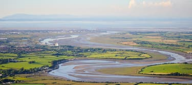 River wyre near Fleetwood
