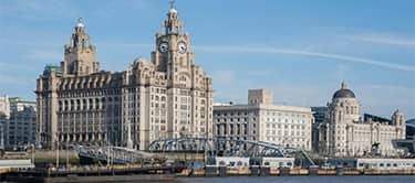 Liverpool buildings waterfront image
