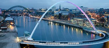 Newcastle millienium bridge
