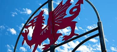 Welsh Dragon Sign