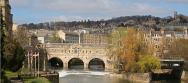 Pulteney bridge Bath City Centre