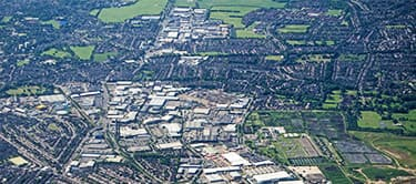 aerial view of croydon