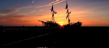 Hoylake at sunset
