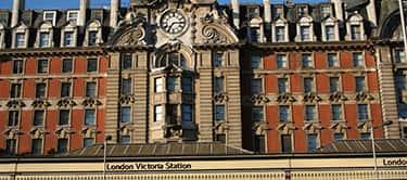london victoria train station