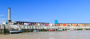 Margate coast
