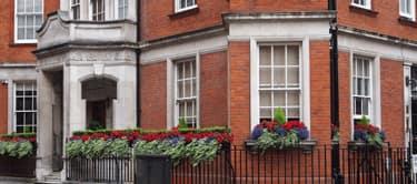 Facade of flats Mayfair