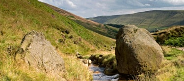 Edale valley, the Pennine way