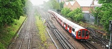 Metropolitan line near Ruislip