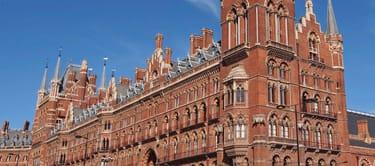 St Pancras train station