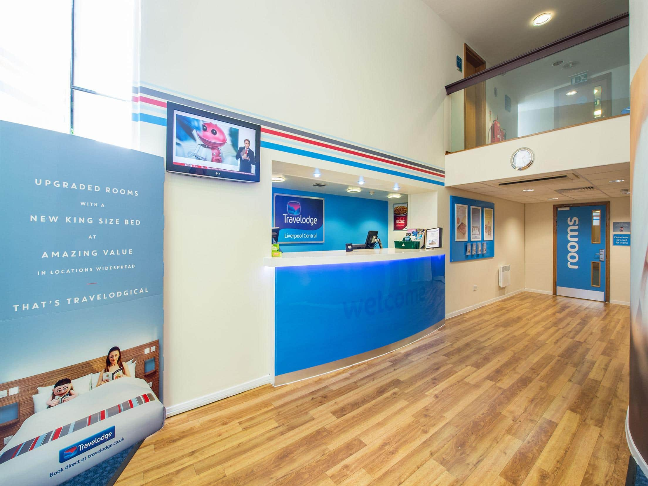Travelodge Liverpool Central Hotel Liverpool Central Hotels - Travelodge location map uk