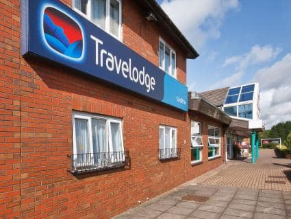 Travel Lodge Cardiff M4