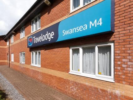 Travel Lodge Swansea M4