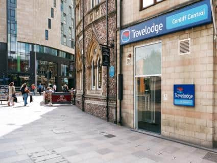 Travel Lodge Cardiff Central