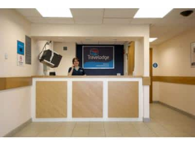 Burton M6 Northbound - Hotel reception