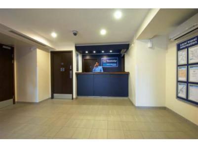 Burton Upon Trent Central - Hotel reception