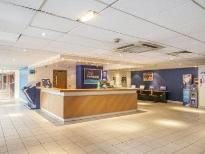 London Kings Cross Royal Scot Hotel - Reception