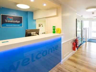 Plymouth Roborough hotel - Reception