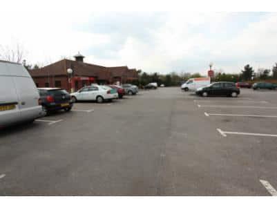 Hickstead - Hotel car park