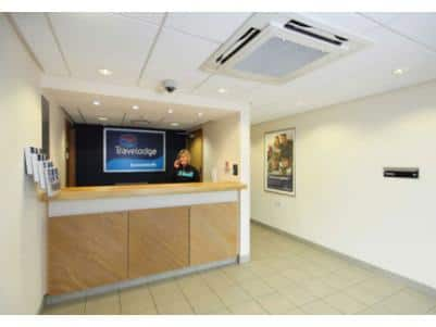 Lowestoft - Hotel reception