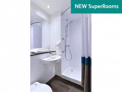 New SuperRoom Bathroom