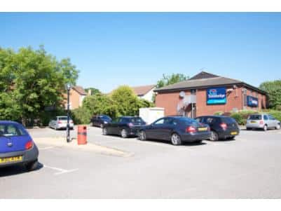 Northampton Upton Way - Hotel car park