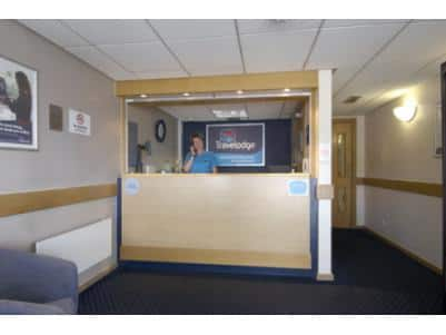 Wakefield Woolley Edge M1 Southbound - Hotel reception