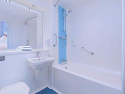 New Hotel Bathroom Bath