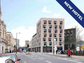 London Hackney new hotel exterior