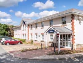 Plymouth Roborough hotel - exterior