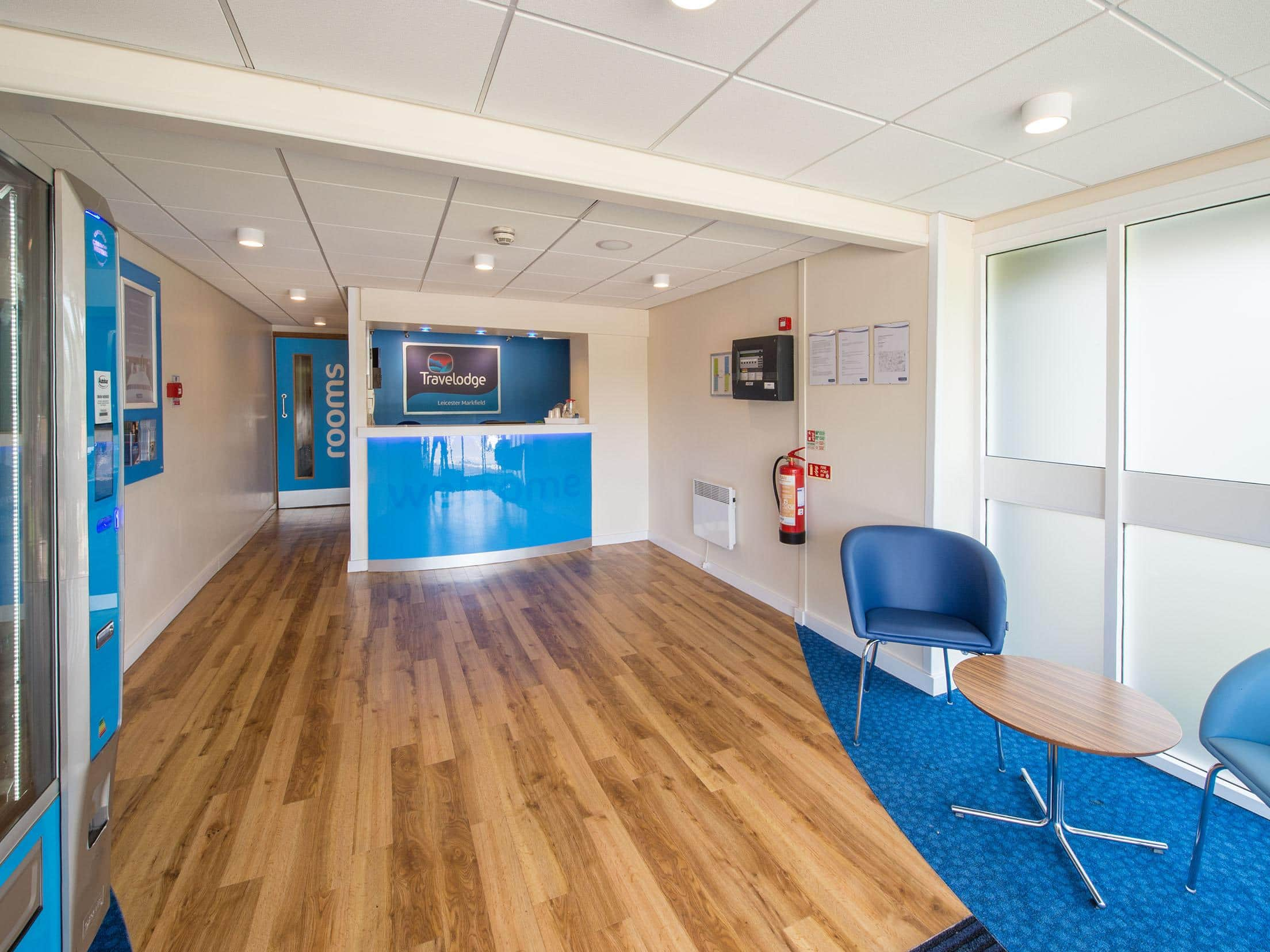 Leicester Markfield - Reception