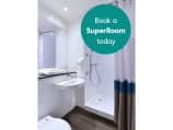 SuperRoom bathroom with shower